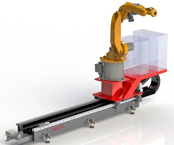 Güdel ArcTrack arc-welding robot track motion module