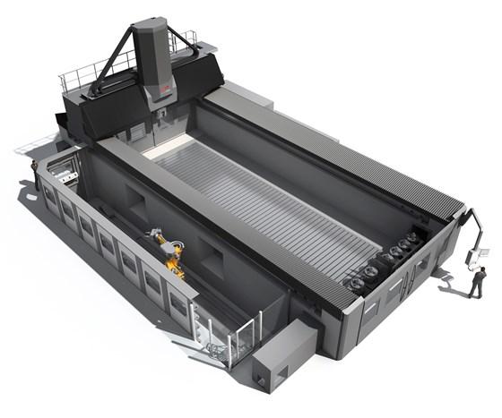 Starrag Technology Droop + Rein FOGS HD high-gantry machine