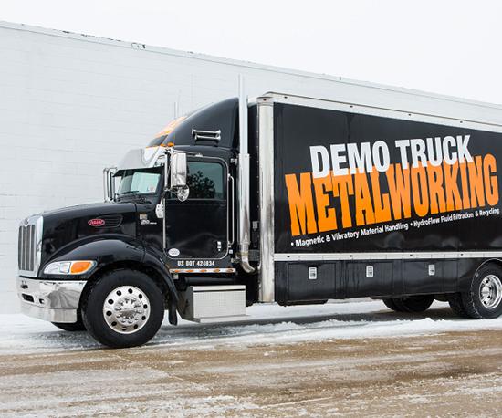Eriez Metalworking Demo Truck