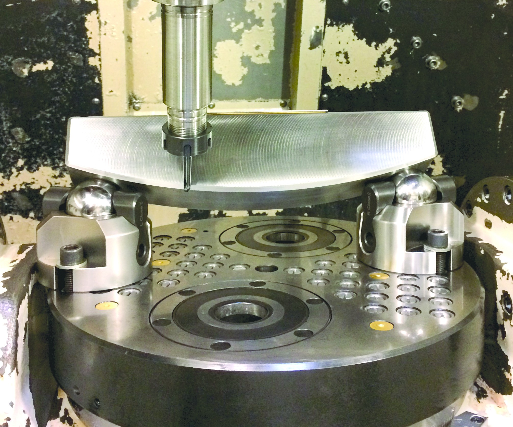 Big Kaiser Uniflex workholding system