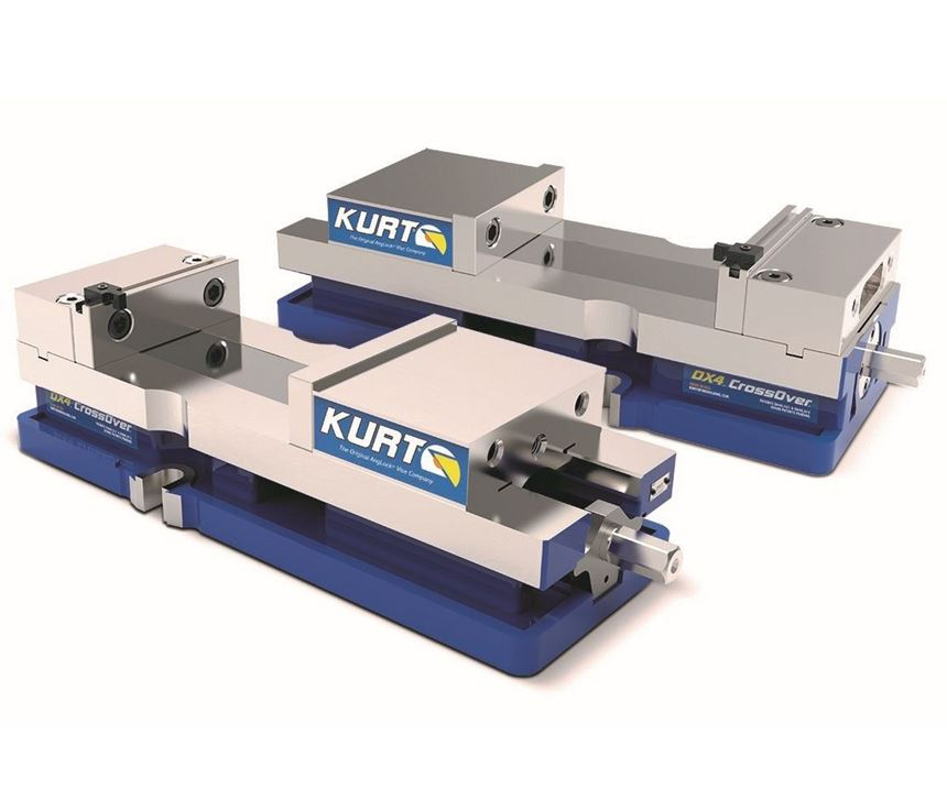 Kurt DX4 CrossOver Vise