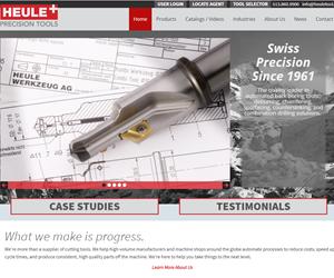 Screenshot of the Heule Tool website