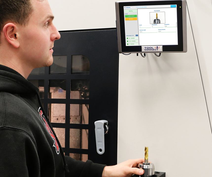Caron Engineer's ToolConnect tool identification system