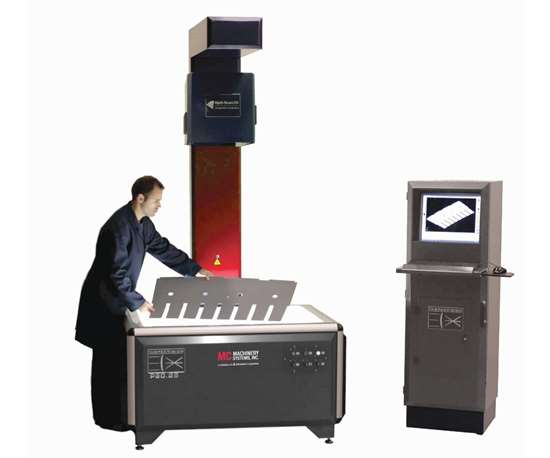 MC Machinery InspecVision Planar Opti-Scan
