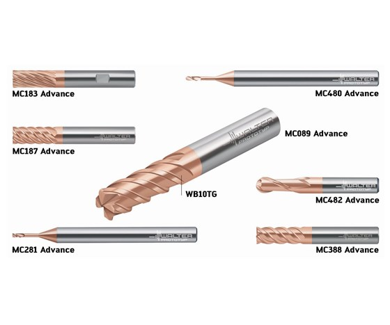 Walter ISO H Advance Linesolid carbide milling cutters