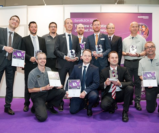 Winners from EuroBlech online competition