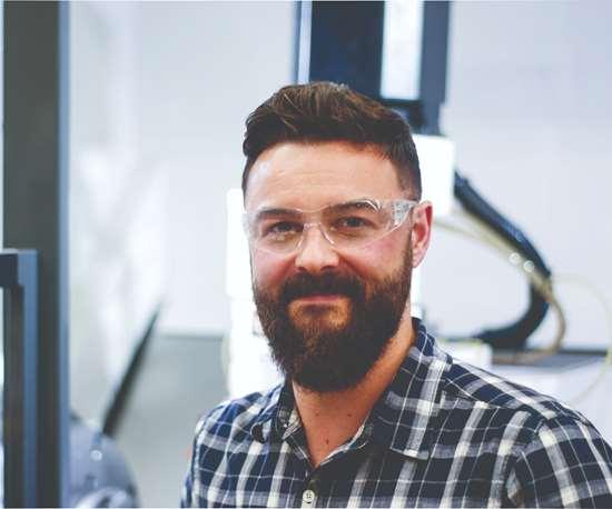 Bourn & Koch business unit manager Joe Goral