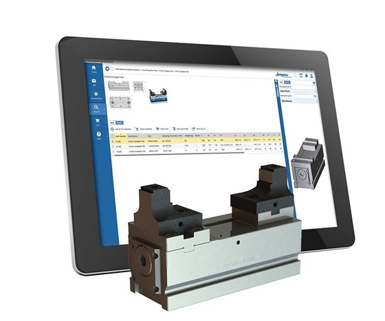 Jergens workholding products on MachiningCloud