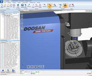 Doosan machine in CAMplete TruePath
