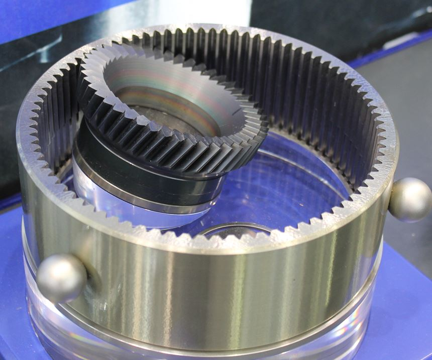 Gears for electric vehicles need to be machined with narrow tolerances
