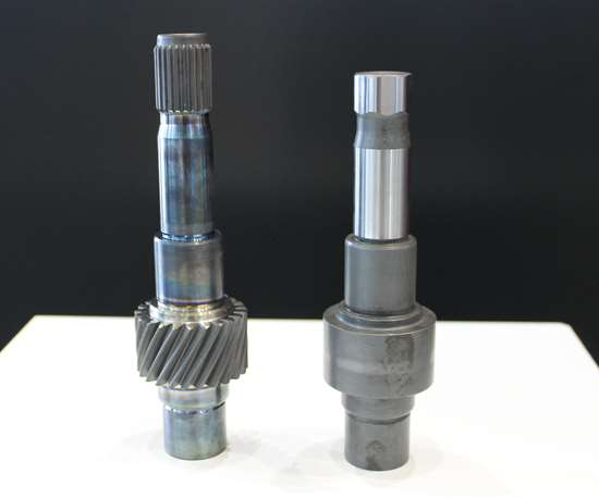 shaft-hub connection for gearboxes made by Weisser's ovalturning