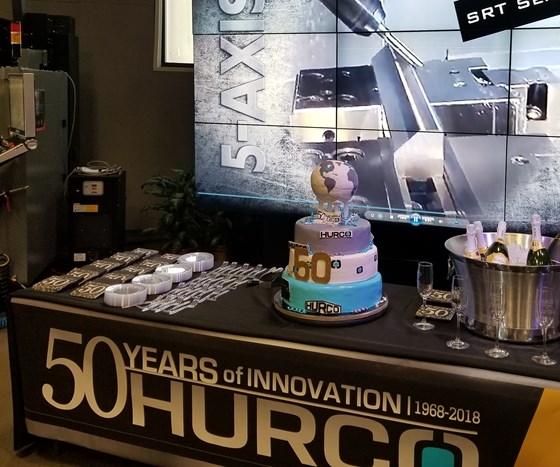 Hurco 50-year anniversary