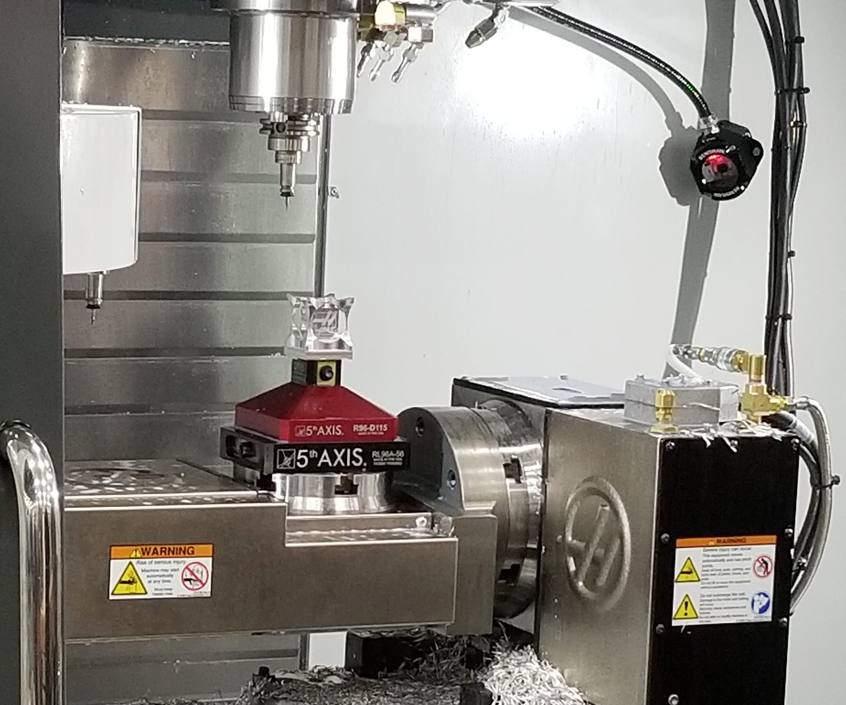 Haas Five-Axis VMC
