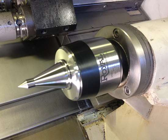 Royal High Precision Quad Bearing Live Center
