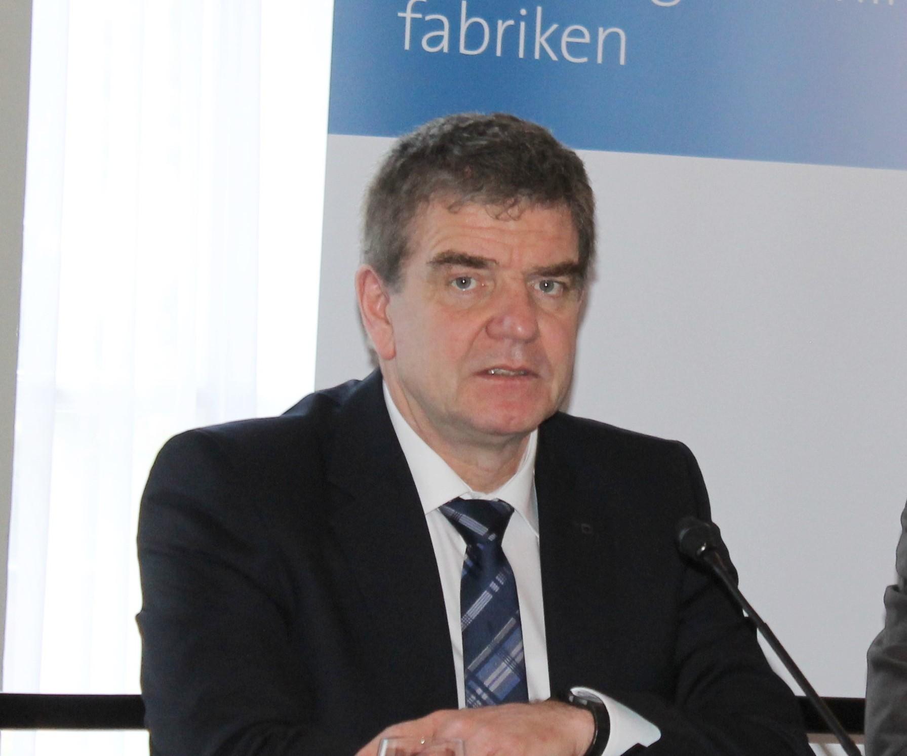 VDW Chairman Heinz-Jürgen Prokop