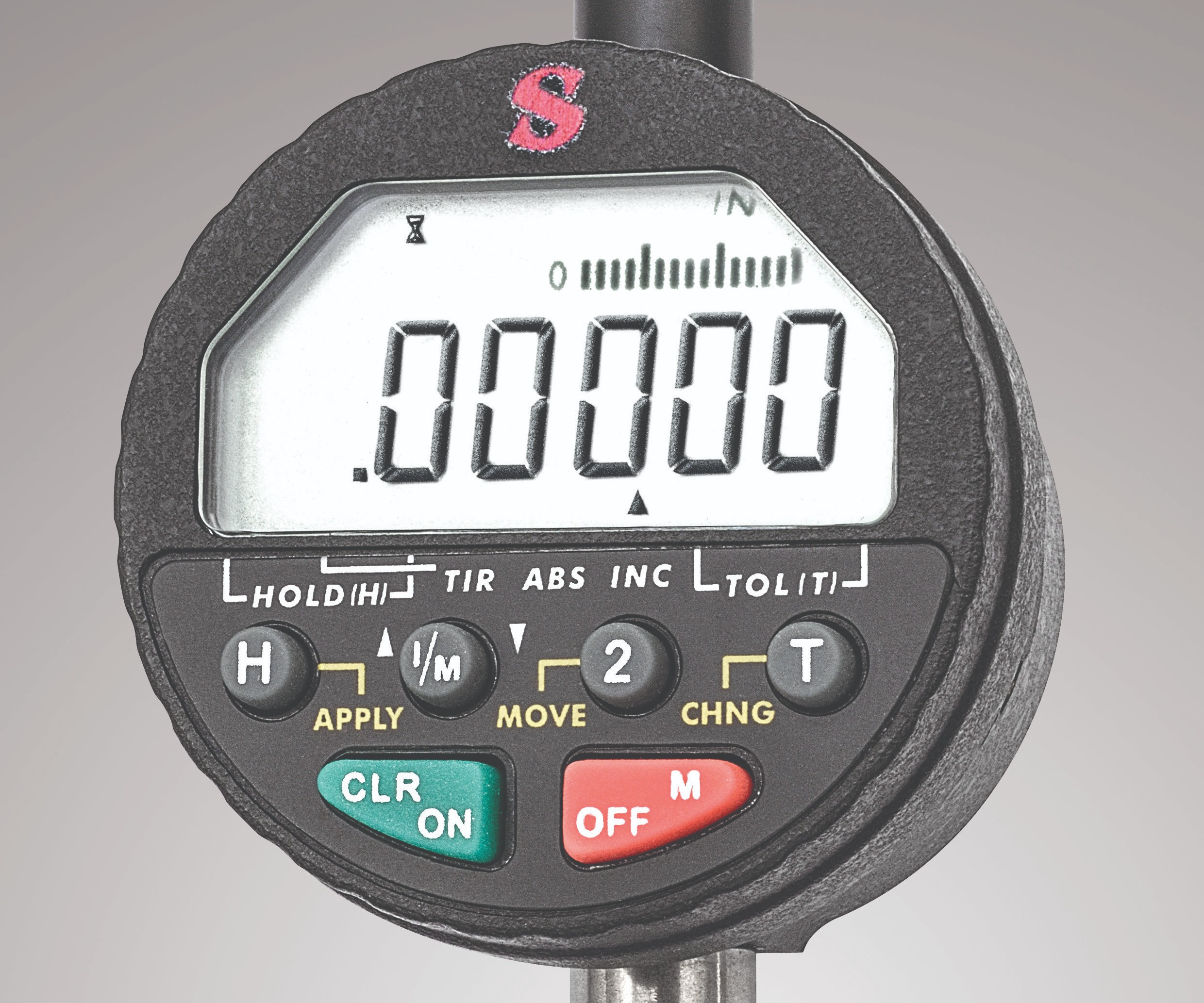 L.S. Starrett digital indicator