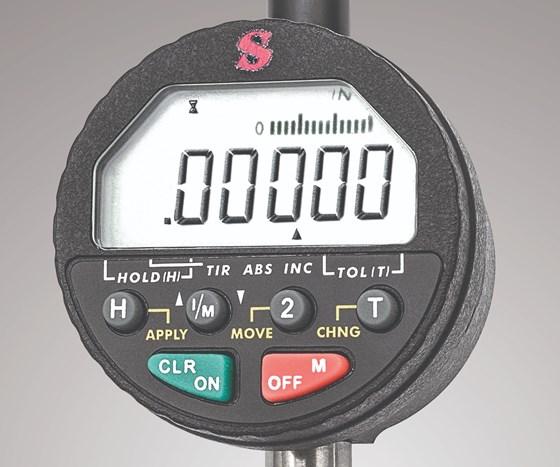 L.S. Starrett digital indicator