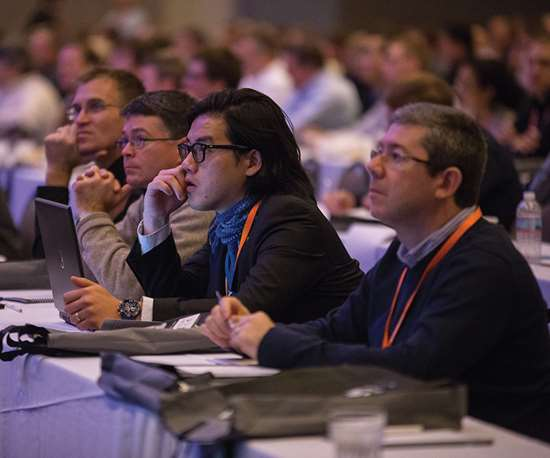 Conferences at IMTSoffer hundreds of educational sessions covering topics such asmanufacturing process, plant operations and emerging technology and trends