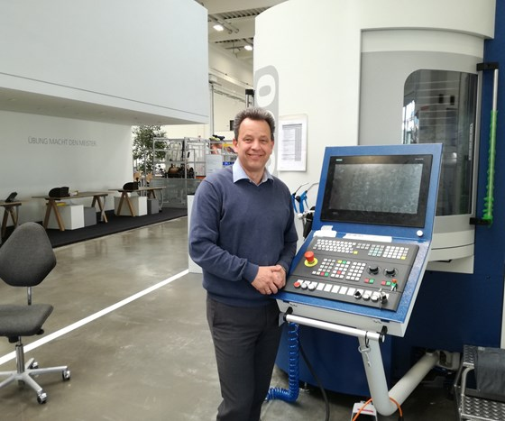 Werner Drexel, Manager Mechanical Training Department at Grob in Mindelheim