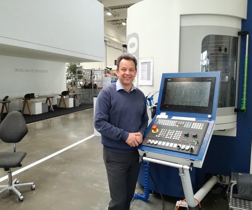 Werner Drexel, Manager Mechanical Training Department at Grob in Mindelheim