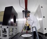 Jesse Garant Metrology's large CT scanner for castings