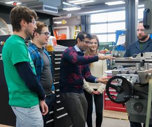 Royal Products Dedicates Space to School of Design Engineering