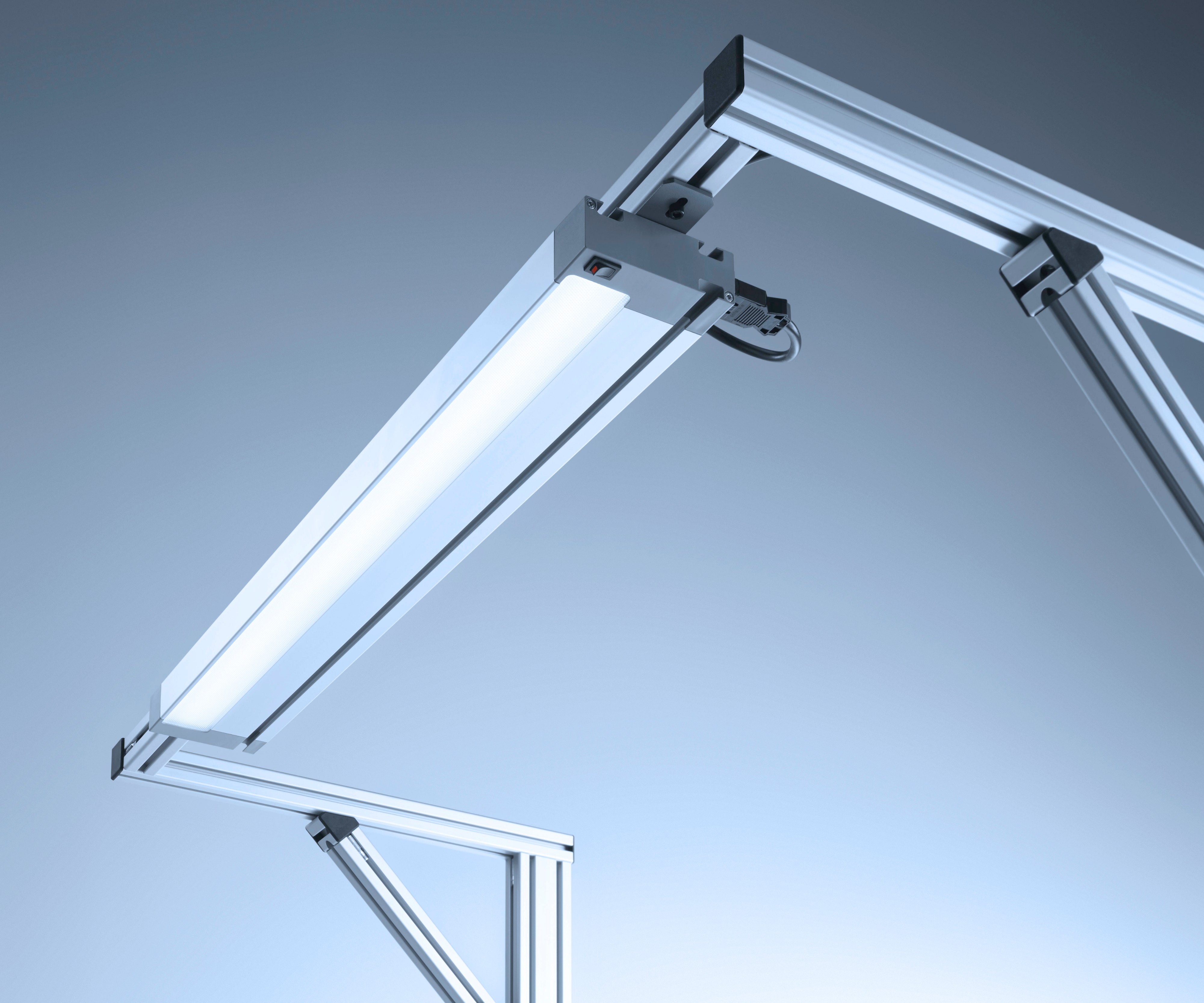 WLA overhead workbench light from Waldmann Lighting