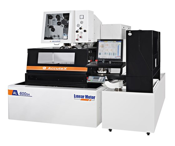 Absolute Machine Tools will display AccuteX's AL-600SA CNC Wire EDM moving-table model at IMTS 2018.
