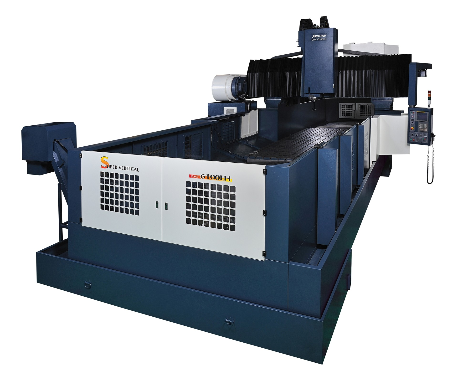 Absolute Machine Tools will display its Johnford DMC LH series of table bridge mills at IMTS 2018.