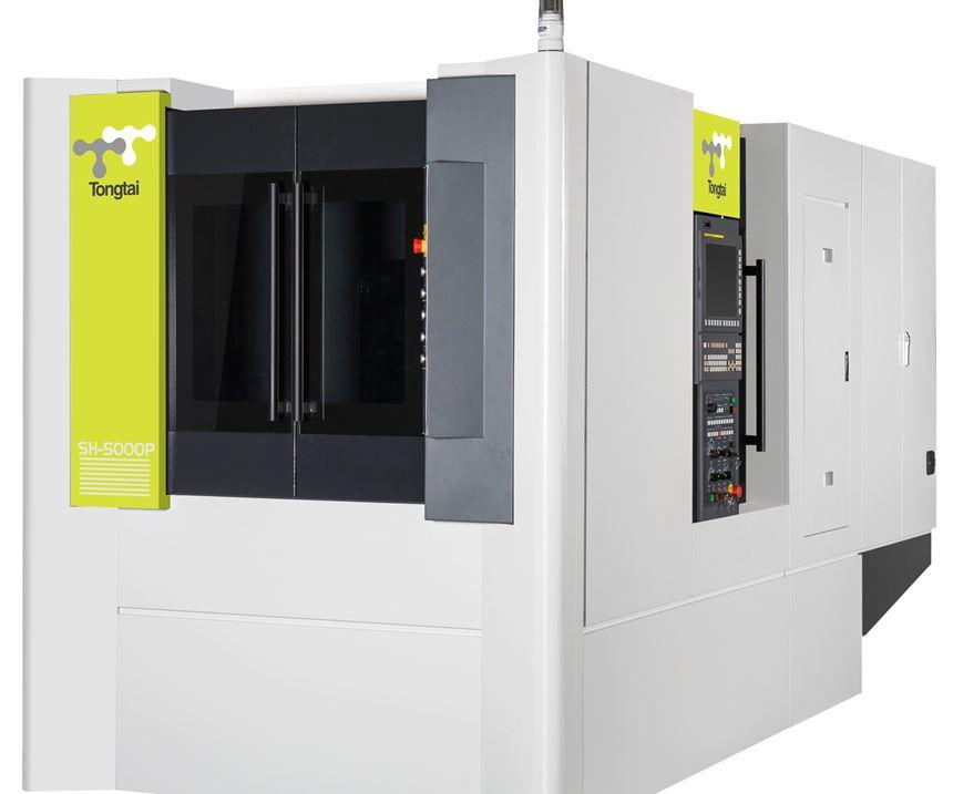 Absolute Machine Tools will display Tongtai's SH-5000P HMC at IMTS 2018.