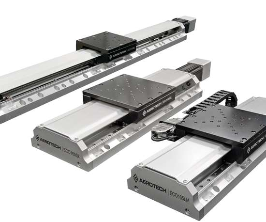 Aerotech will display its Eco series linear stages at IMTS 2018.
