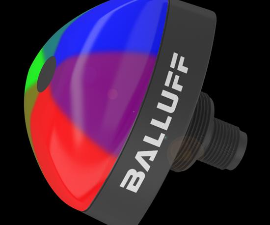 Balluff will display its series of SmartLight indicators at IMTS 2018.