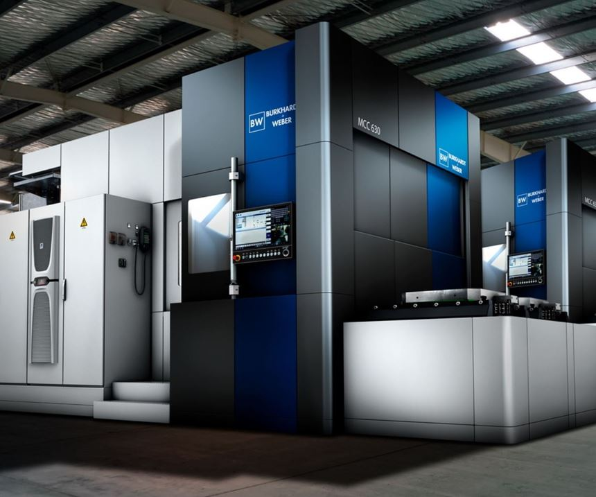 Burkhardt+Weber will display its MCC series of milling machines at IMTS 2018.