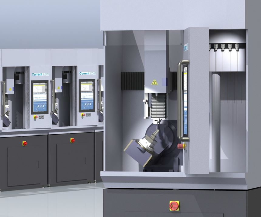 Current EDM will display its FT300 machine at IMTS 2018.