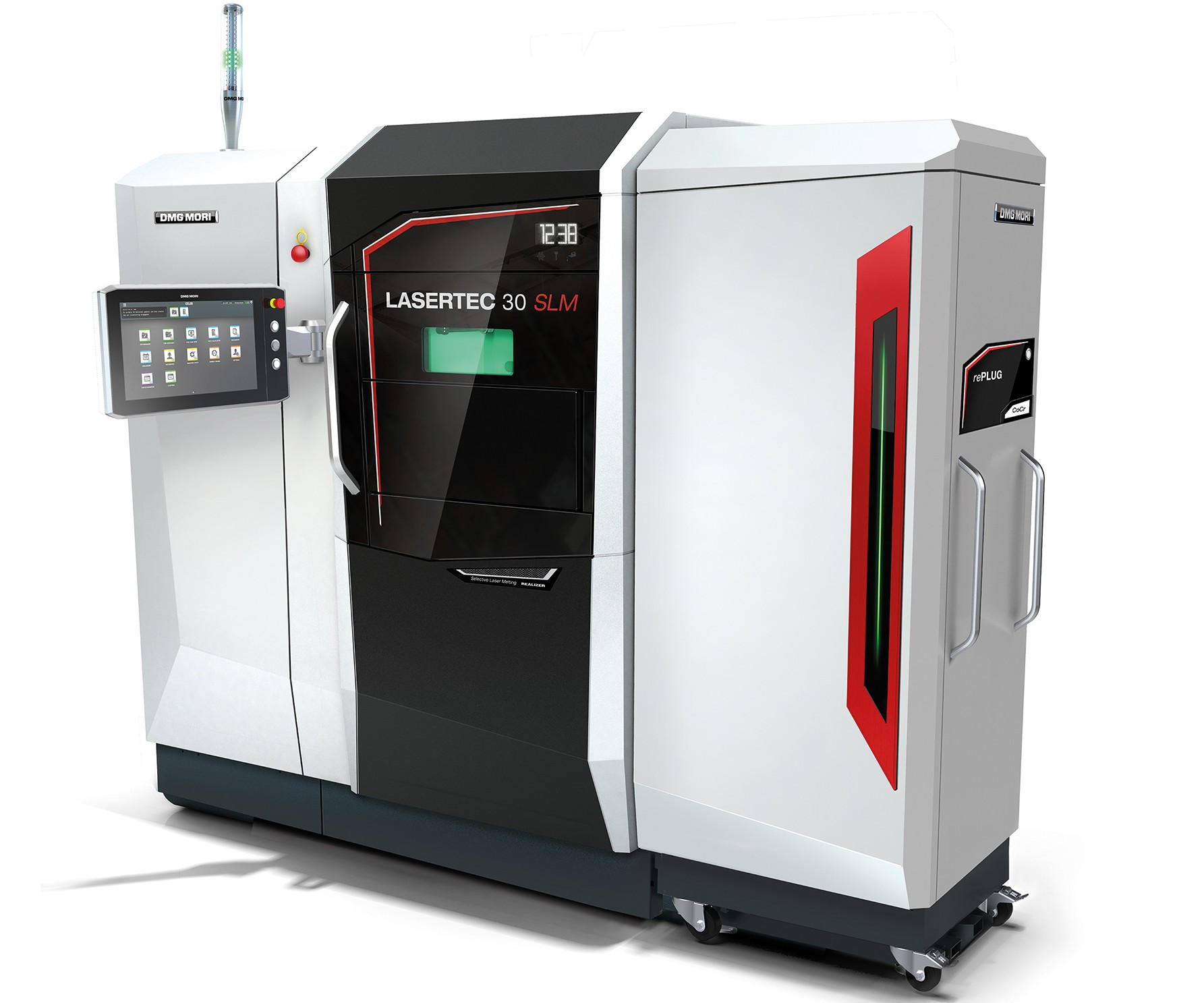 DMG MORI will display its Lasertec 30 selective laser melter at IMTS 2018.