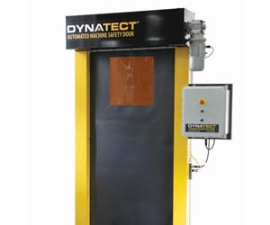 Dynatect will display its Gortite VF automated machine safety door at IMTS 2018.