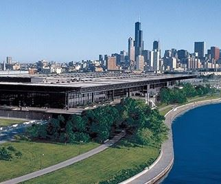 The East Building of McCormick Place