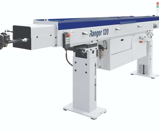 Edge Technologies will display its Ranger 112 bar feeder at IMTS 2018.
