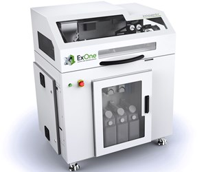 ExOne will display its Innovent+ 3D printer at IMTS 2018.