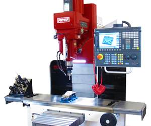 Fryer will display its MB series of toolroom bed mills at IMTS 2018.
