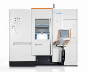 GF Machining Solutions will display its Mikron Mill P 500 U VMC at IMTS 2018.