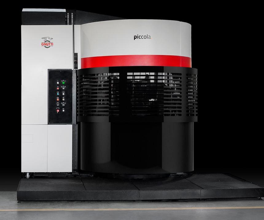 Gnutti will display its Piccola lean transfer machine at IMTS 2018.