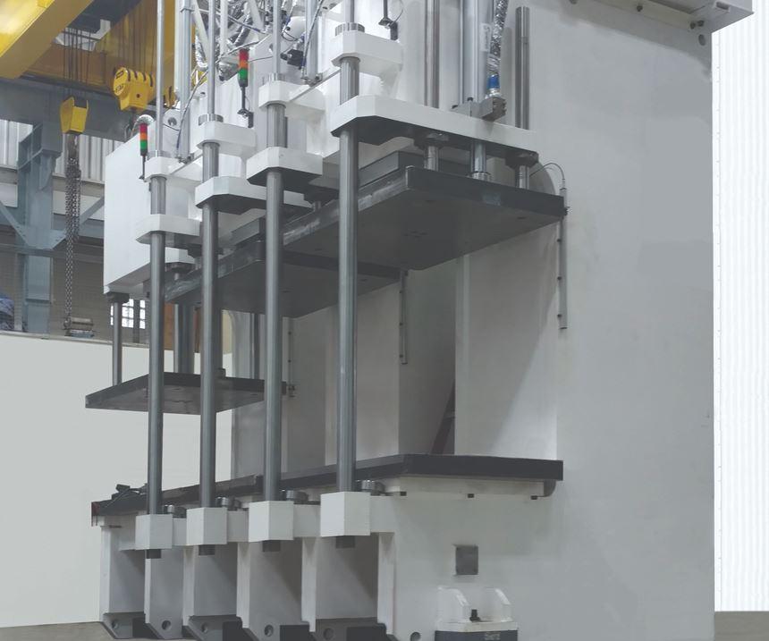 Greenerd will display its Transfer series of hydraulic presses at IMTS 2018.