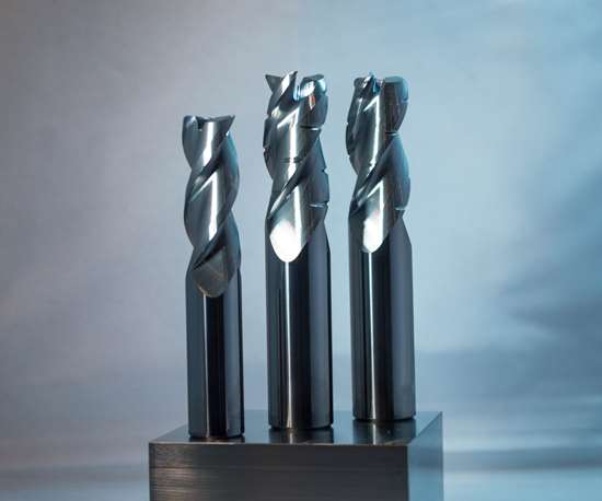 GWS Tool Group will display its Alumigator series of end mills at IMTS 2018.