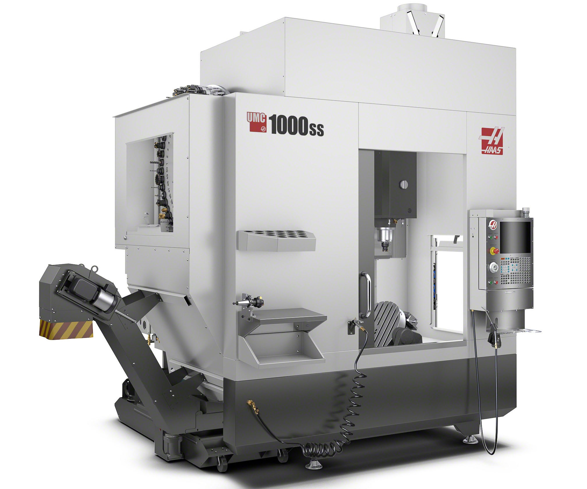Haas will display its UMC-1000SS UMC at IMTS 2018.
