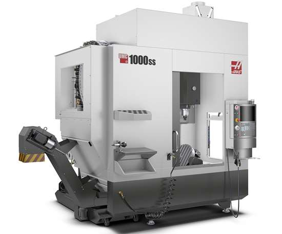 Haas will display its UMC-1000SS UMC at IMTS 2018.