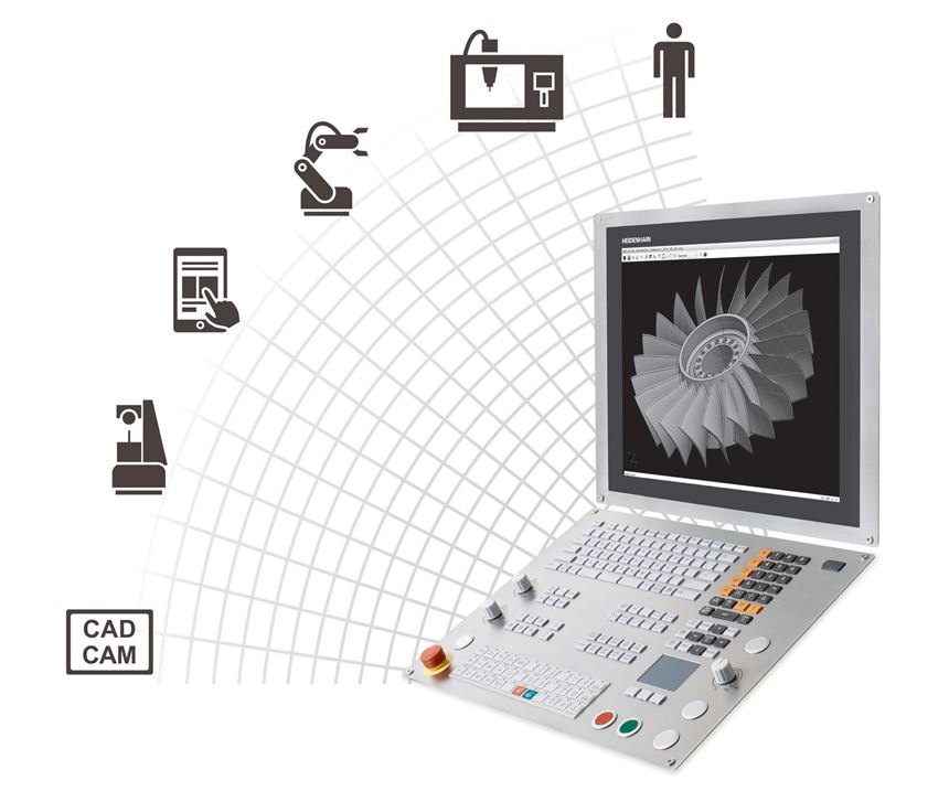 Heidenhain will display its Connected Machining systems at IMTS 2018.