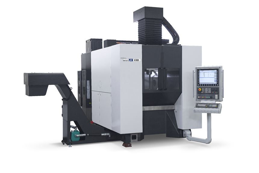 Hyundai Wia will display its XF 6300 five-axis machine at IMTS 2018.