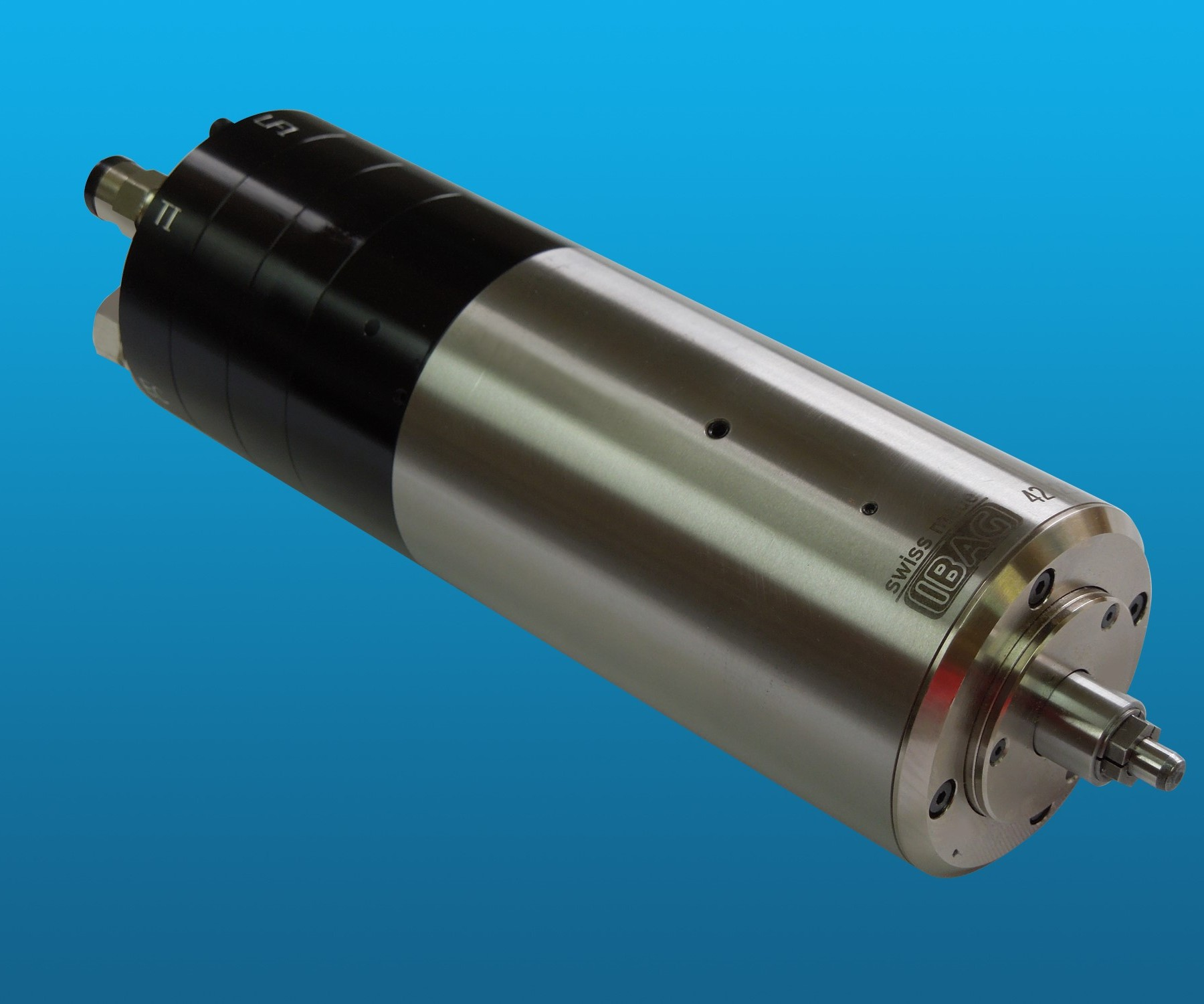 IBAG North America will display its series of high-speed spindles at IMTS 2018.