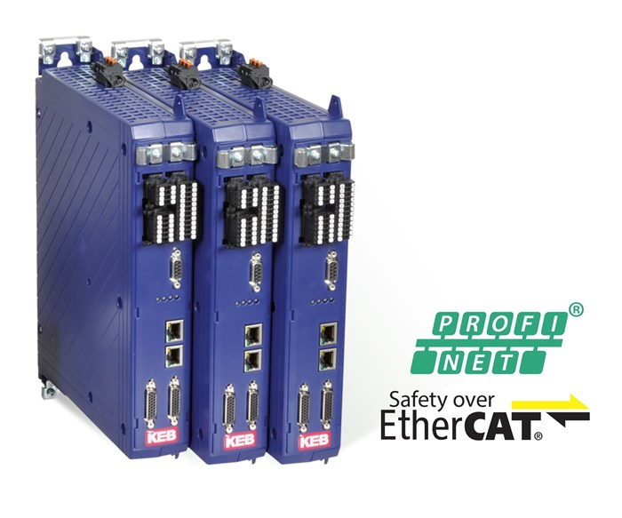 KEB America will display its S6 servo drive at IMTS 2018.